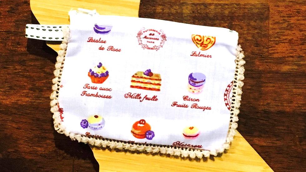Dessert Handmade Fabric Coin Purse