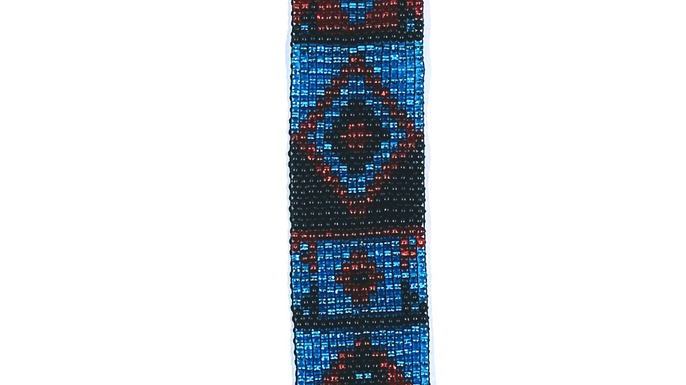 Loom Bracelet Blue and Red