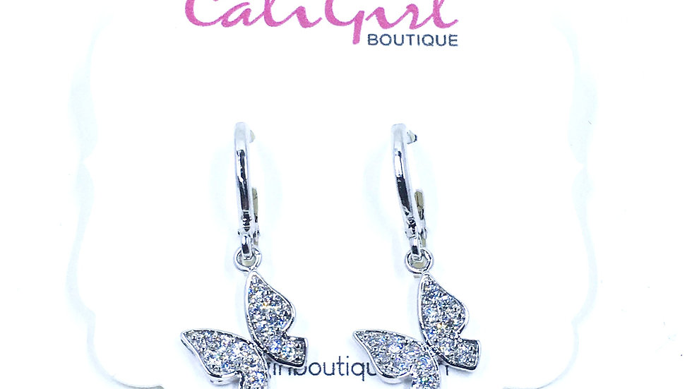Butterfly Dangle Earring