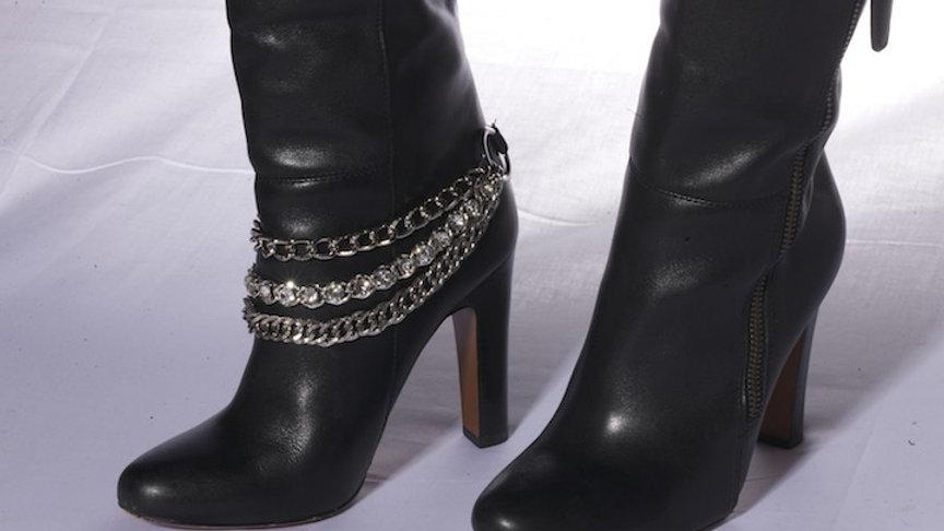 Sassy Strapps Rhinestone Boot Strap