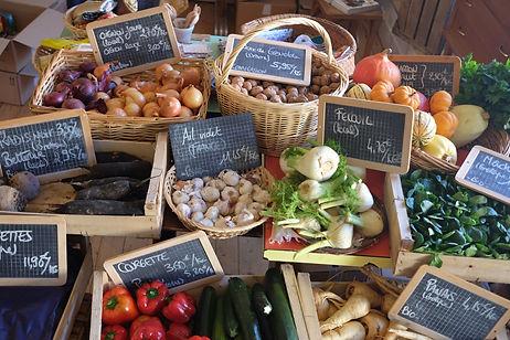 fruit et légumes épicerie