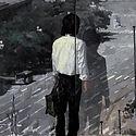 《一个人》240x120(120x80x3联)布面油画2014_已編輯.jpg