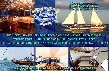 Cabo Sail Private Tour