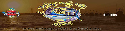Cabo Sport Fishing Charters , Join us an doFishing for Marlin, Dorado, Wahoo, Yellow fin Tuna in Cabo Sa Lucas , aboard one of our charters from a Small Super Panga , 28ft , 31ft, 35ft , 42ft, 44ft, 50ft, Luxury Private Yatch , Excellent Service and best prices for an all inclusive fishing boats