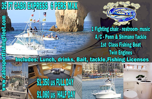 1st class deep sea fishing