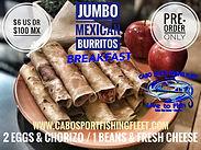 Cabo Sport Fishing Mexican Burritos Brea