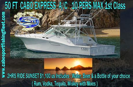 1st class boat tour