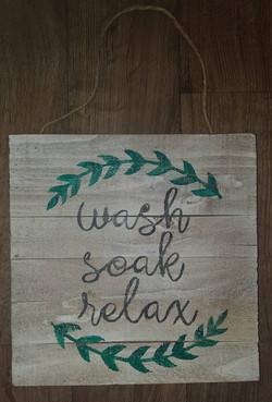 Wash Soak Relax $30