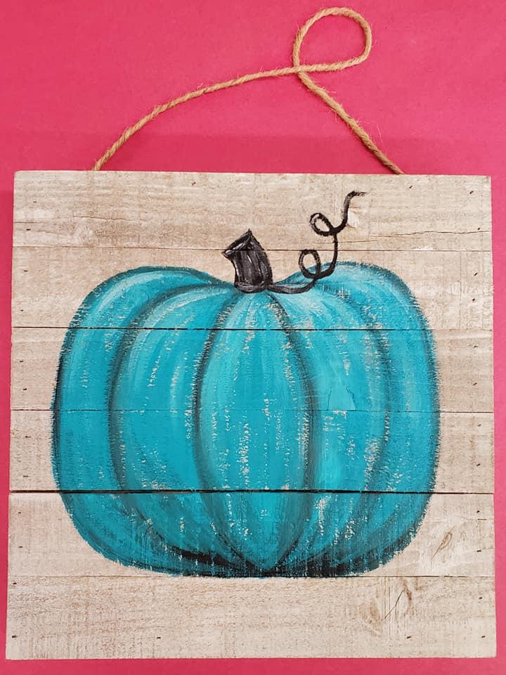 Teal Pumpkin Board - $30