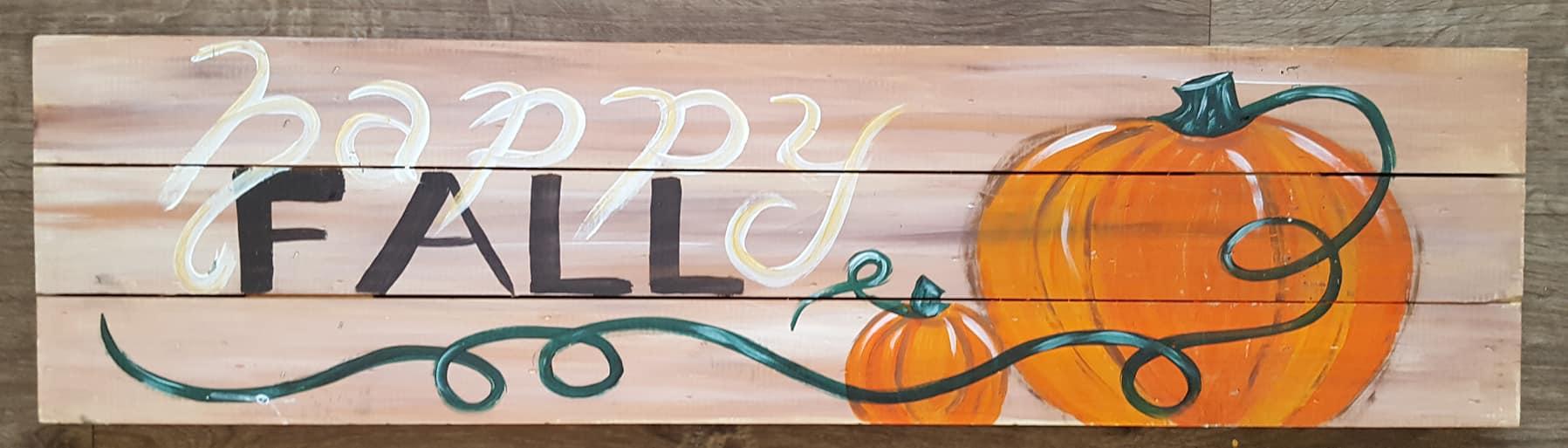 Happy Fall Pallet $30