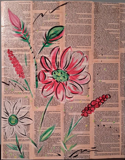 Blooming Pages