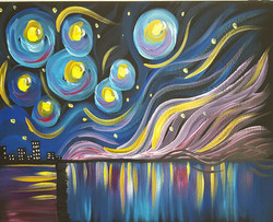 Modern Starry Night