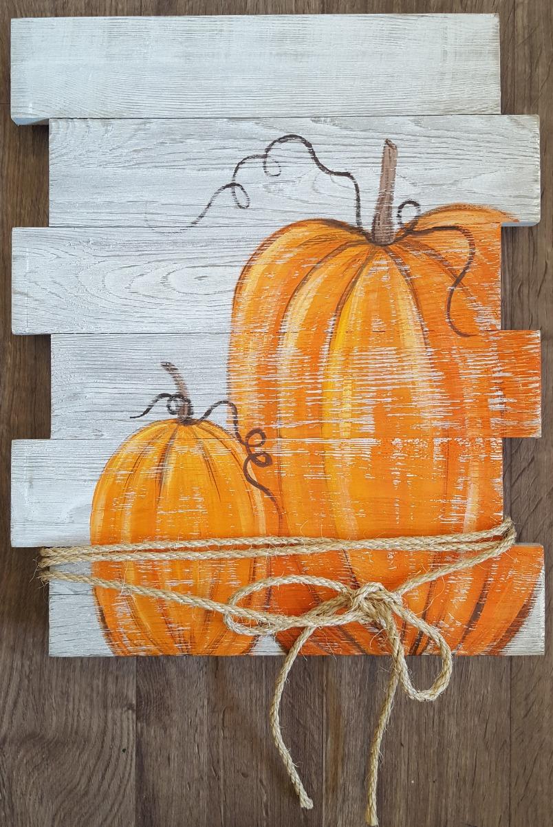 Pumpkin Pallet $35
