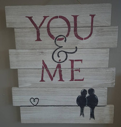 You and Me $35