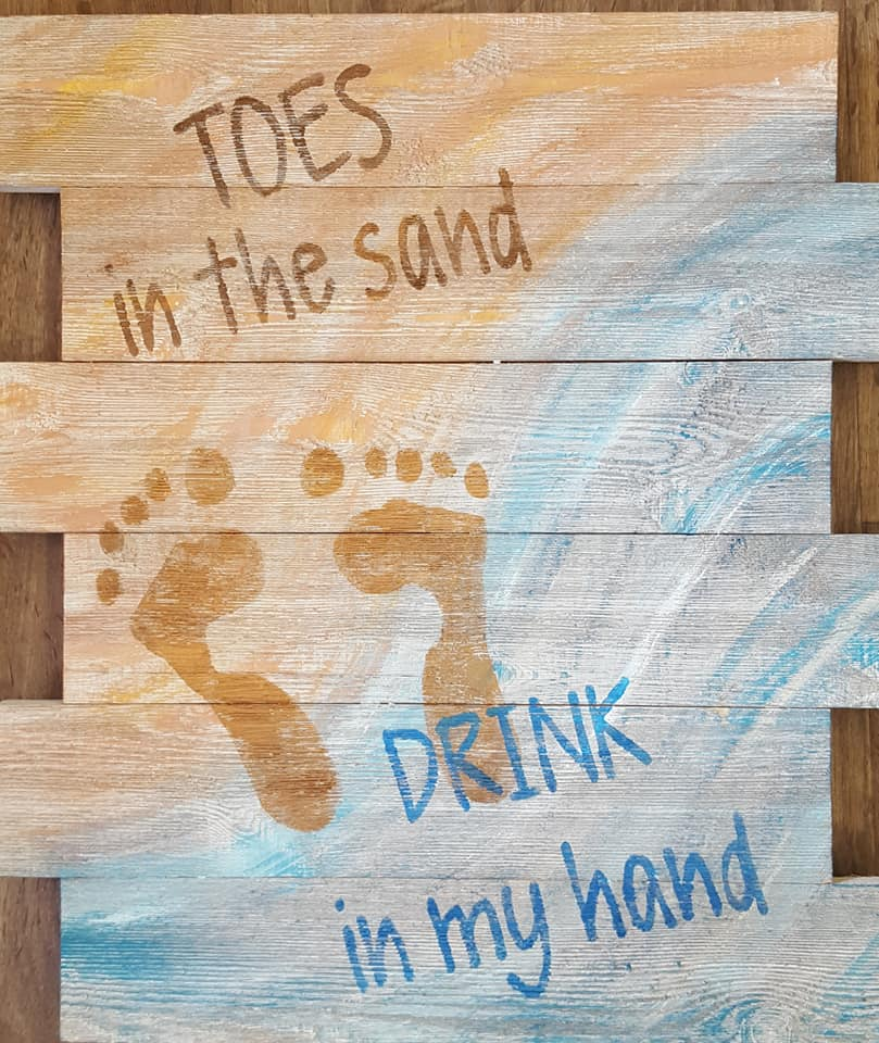 Toes in the Sand $35