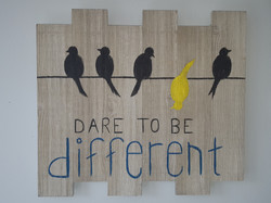 Dare to be Different $35