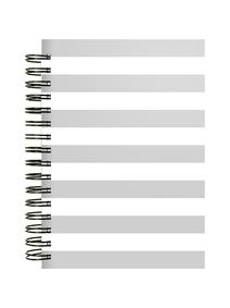 Notes-A4-B5-A5-B6-gray-&-white-twarda-ok