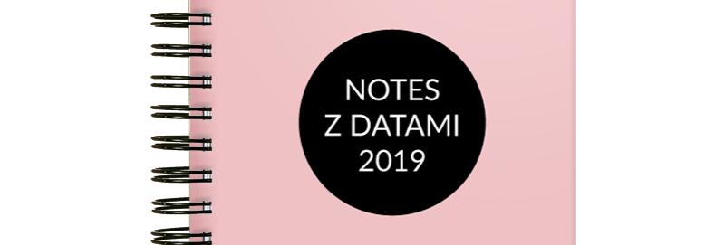 Notes z datami personalizowany