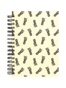 Notes-A4-B5-A5-B6-pineapples-monochrome-