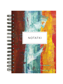 Notes-A4-B5-A5-B6-tricolore-paint-twarda