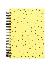 Notes-A4-B5-A5-B6-dots-one-yellow-twarda