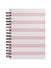 Notes-A4-B5-A5-B6-gray-&-pink-twarda-okl