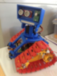 FRED - 3DprintCQ mascot