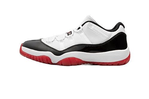 """Concord Bred""Jordan 11 Low's (Men)"
