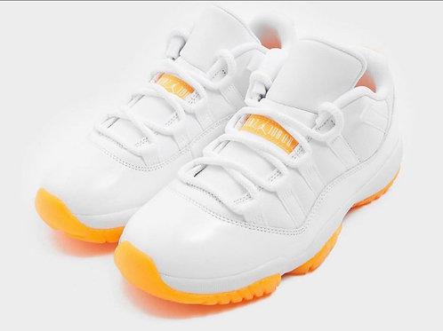 """Citrus "" Jordan 11 Low's (Women Sizes)"