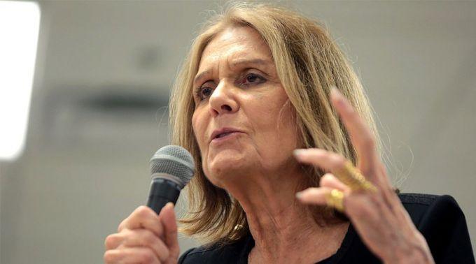 Gloria Steinem/ Crédito: Wikimedia Commons