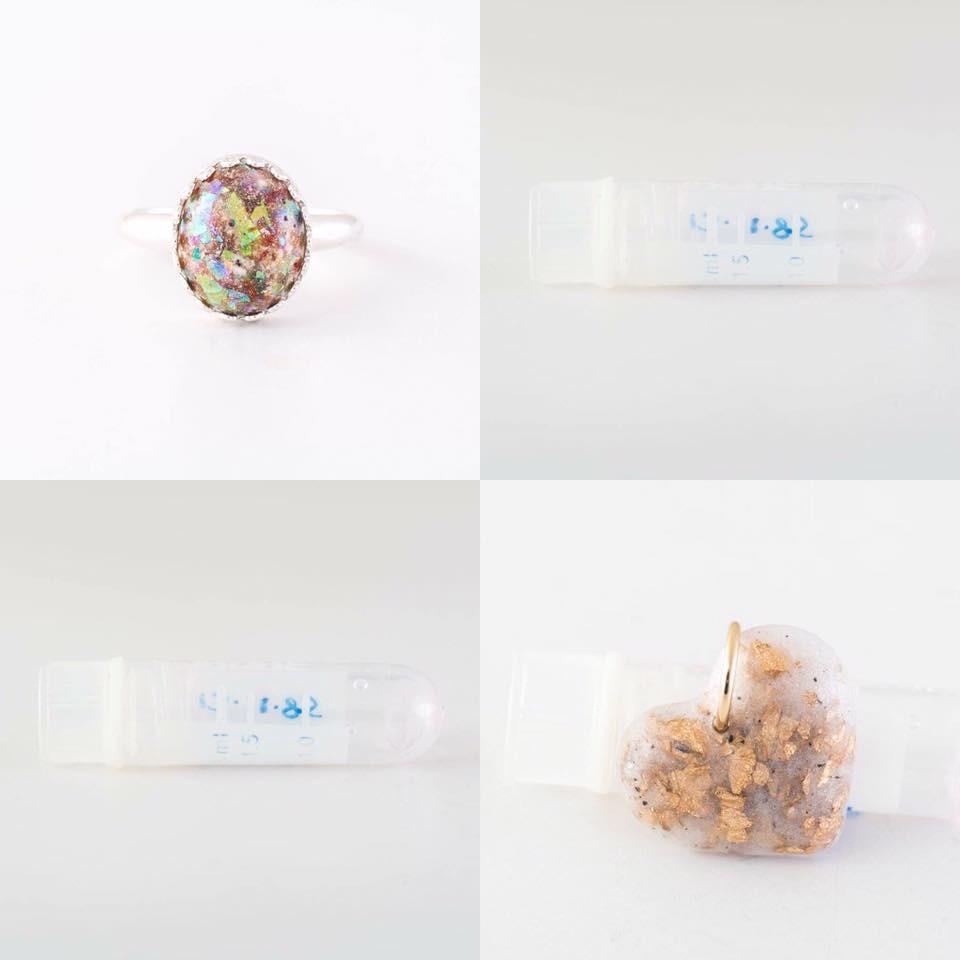 Modelo de jóia criada com embriões humanos (foto: divulgação).