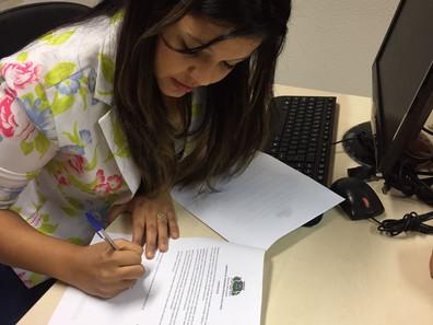 Vereadora Priscila Costa (PRTB) protocola projeto para criação do terceiro turno nas unidades dos CA