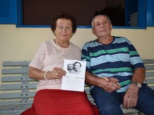 União que começou em 1947 rendeu frutos: 9 filhos, 18 netos e 15 bisnetos (Foto: Camilla Motta/G1)