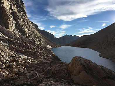Crabtree Lake, Sierra Nevada, Southern Sierra High Route