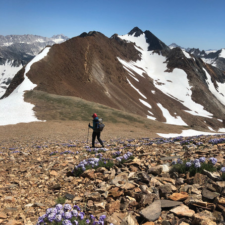 Two Days, Two Peaks....and Some Off Trail Travel
