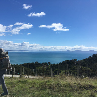 Looking Towards Bream Head and Marsden Point.