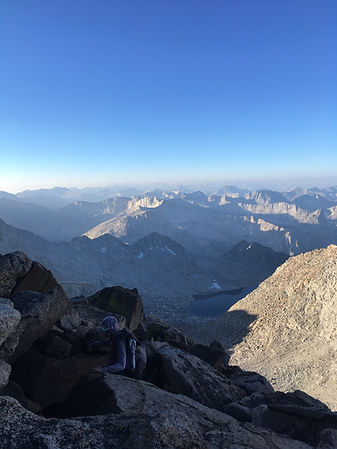 Mt. Sill, Sunrise, Scramble, Southern Sierra High Route
