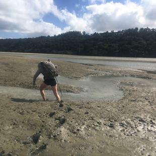 Some more muddy estuary crossings.
