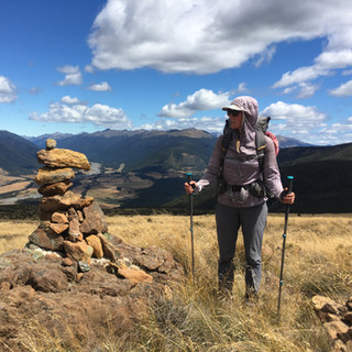The start of the Red Hills ridge alternate.