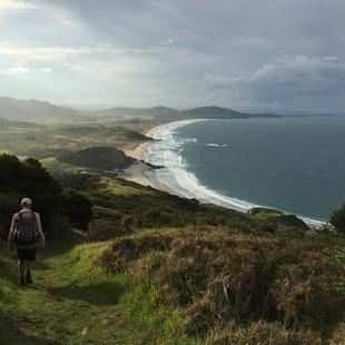 Walking down towards Ocean Beach.