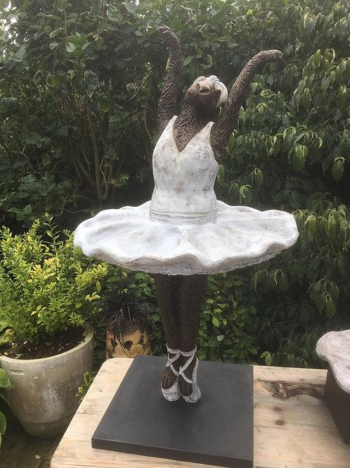 Ballerina Birdbath
