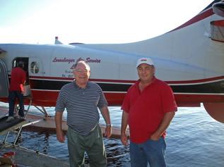 Jim and Brian Shackleton