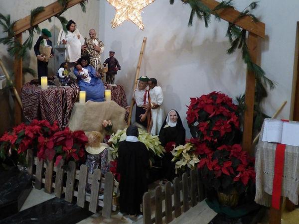 St Therese Little Flower Catholic Church Christmas Creche