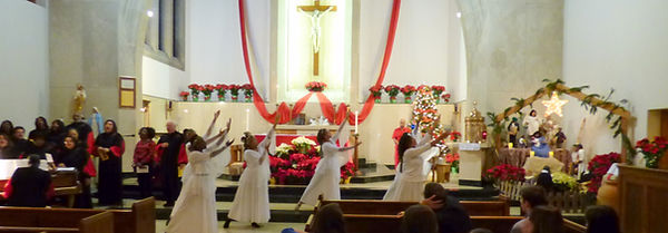 St Therese Little Flower Catholic Church Gospel Choir and Praise Dancers