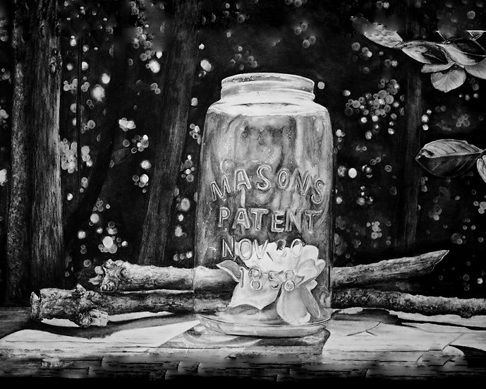 """Mason Jar #1"" Fine Art Print - Limited Edition"