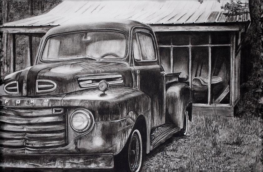 """Ford #1"" Fine Art Print"