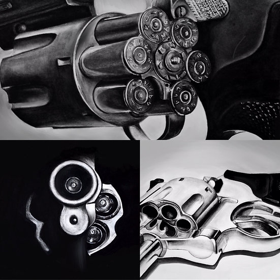 GIFT SET of 3 Revolver Prints (LIMITED EDITION of 5 sets)