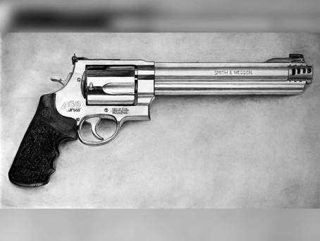 """Smith & Wesson"" Gun #7 - Drawing Progress Blog"