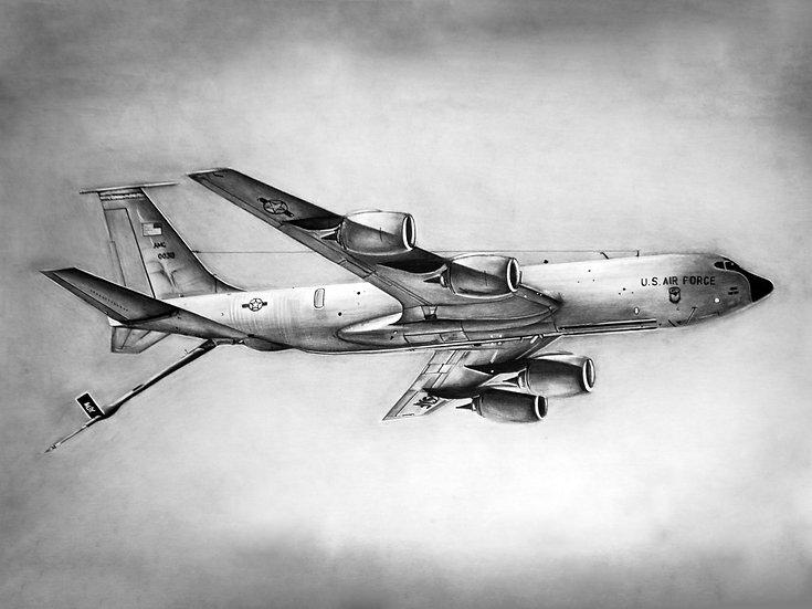 KC-135 LIMITED EDITION Fine Art Print