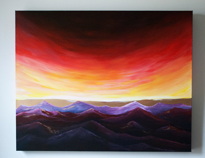 """""""Your Glory is so Beautiful"""" Original Painting"""